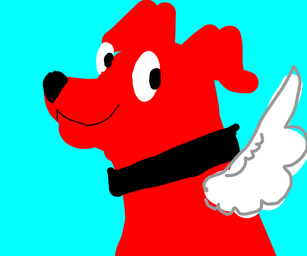 Clifford the big red dog with wings