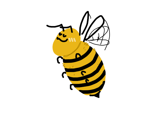 UwU cute honey bee