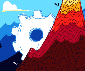 Mechanical mountain