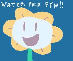 Flower just wants to do water sports