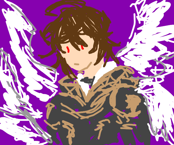 I'm concerned, I'm growing angel wings
