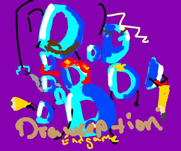 Drawception endgame