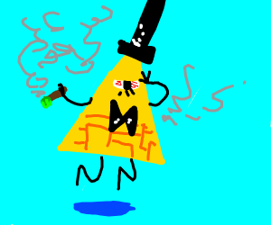 To be blunt, it's a high Bill Cipher.