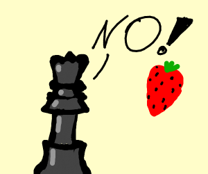 Chess hates strawberry