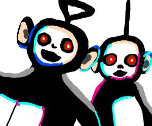Creepy teletubbies