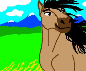 Spirit the stallion (By Dreamworks)