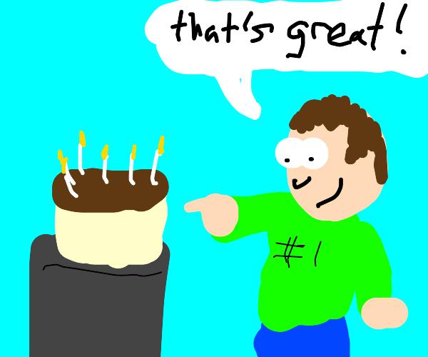 A great chocolate cake