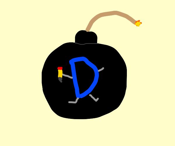Drawception beinging a bomb