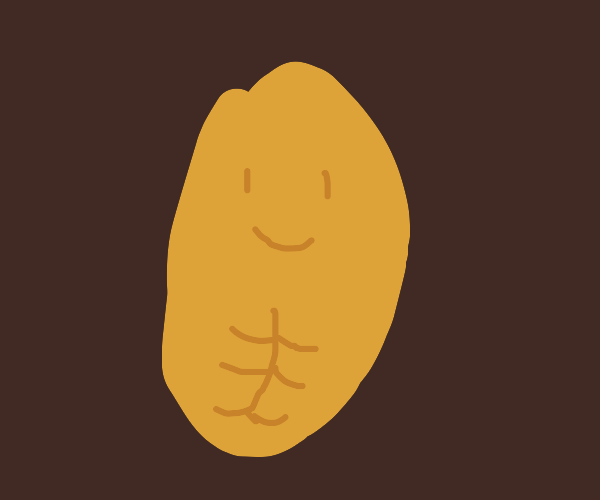 A potato with abs
