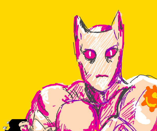 Killer Queen gives you a thumbs up