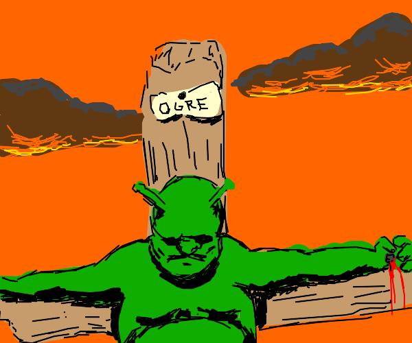 shrek dies for your sins