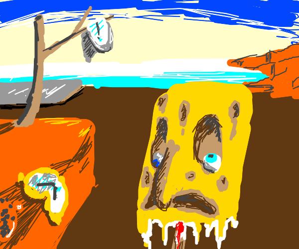 Spongebob popsicle melting