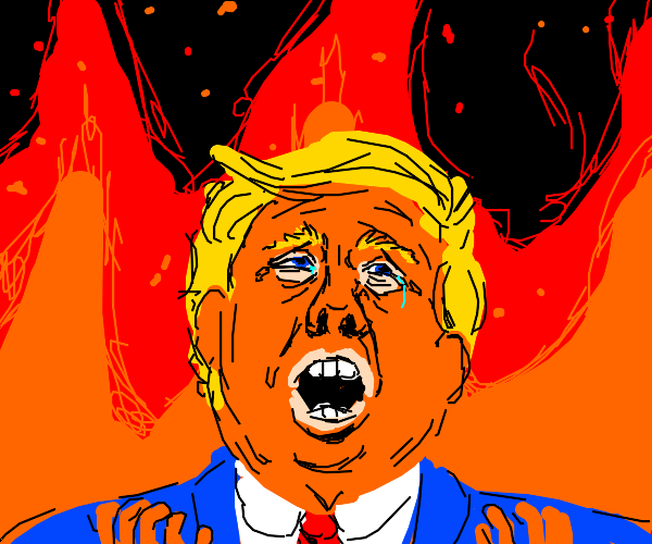 Donald Trump goes to Hell