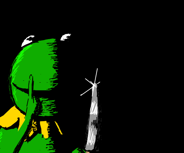 Kermit out of darkness