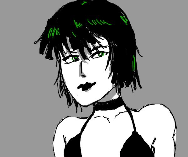 Super Goth Anime Girl