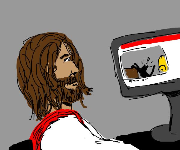 Jesus is mildly amused