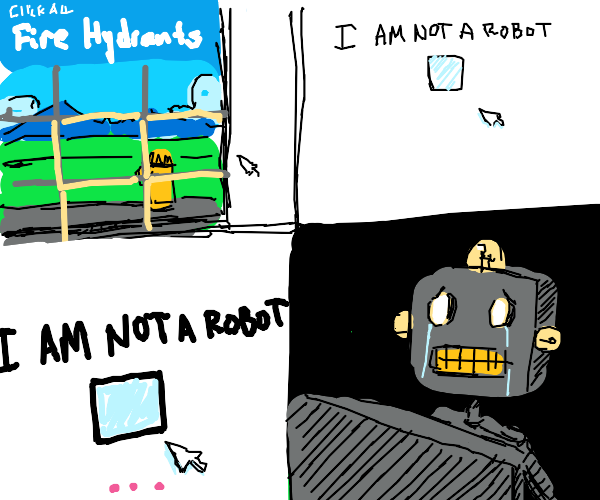 Robot can't figure out captcha