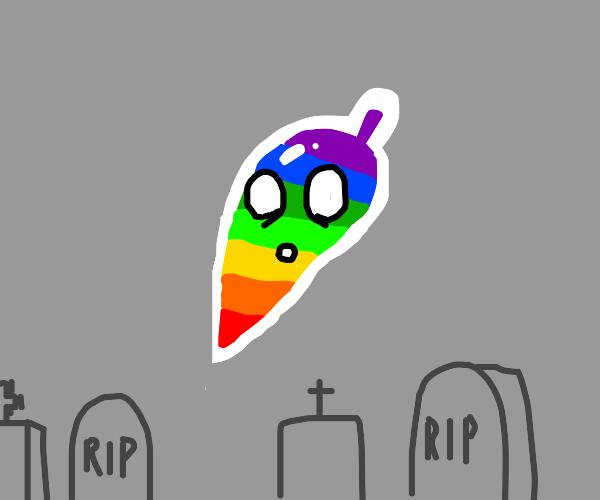 rainbow ghost pepper