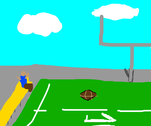 American football without players