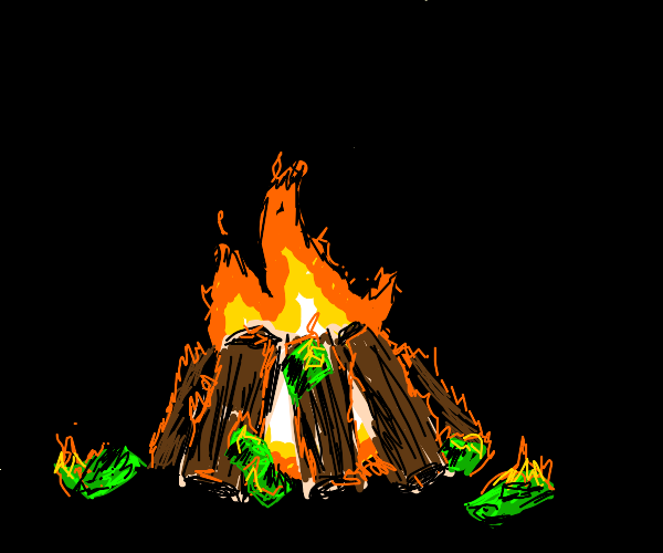 Money campfire