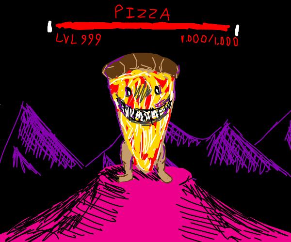 Pizza boss fight