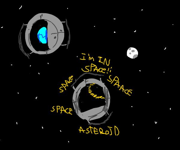 Space Core won't shut up