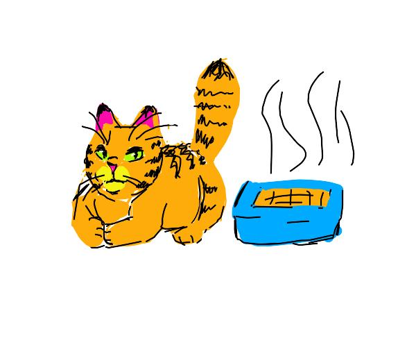 Cat Running Away From Home Drawception
