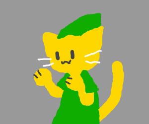 Cat link furry