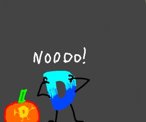 Pumpkin Drawception was a mistake