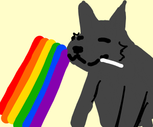 the great big wolf is gay
