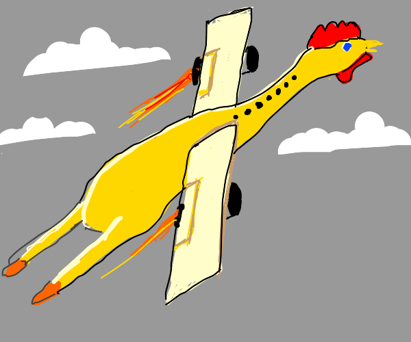 rubber chicken aircraft