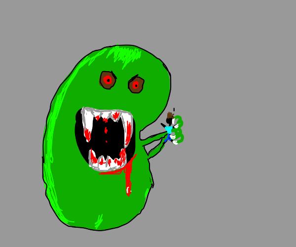 Lima bean eats you