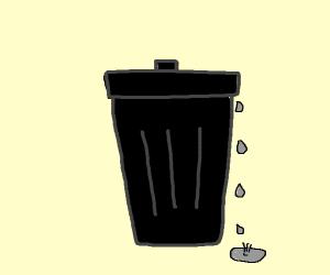 Drippy garbage