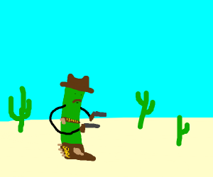 Cucumber Cowboy