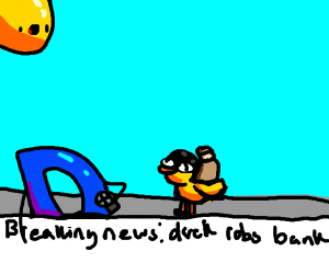 Duck robbery feat. Drawception news
