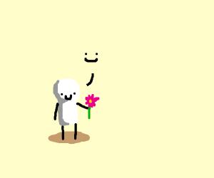lucas likes flowers