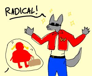 1980's Big Bad Wolf