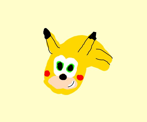 Pikachu sonic