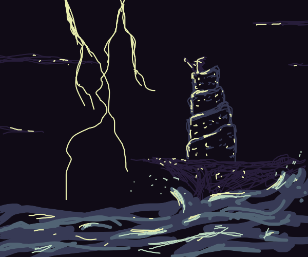 Eccentric wizard's spire