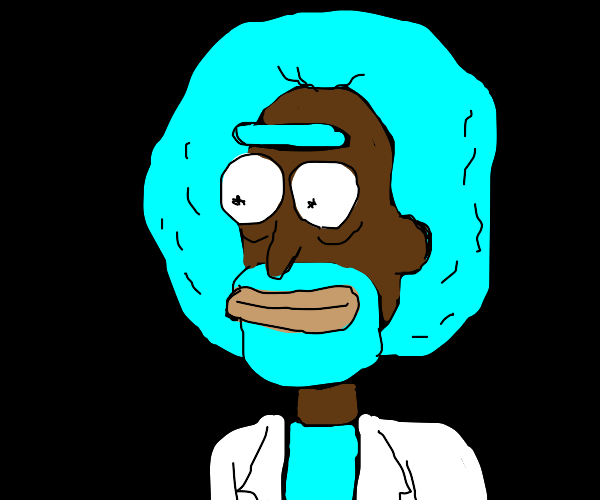Bob Ross Rick (Rick and Morty)