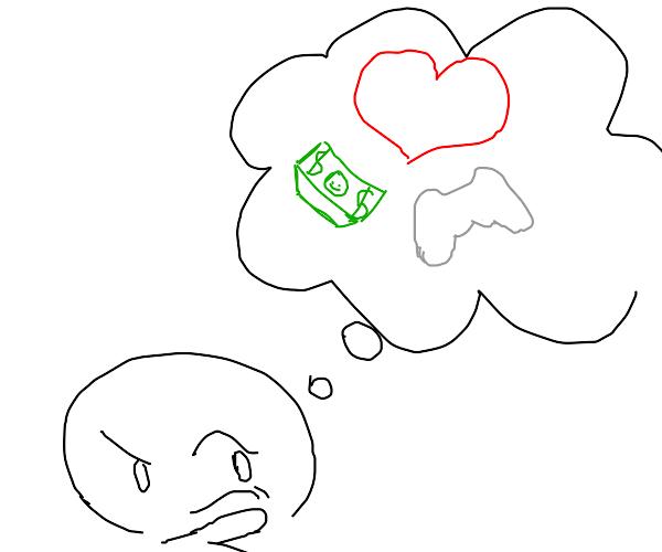 Thinkin' bout Money, vidya games, and love