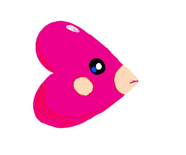 Heart fish pokemon