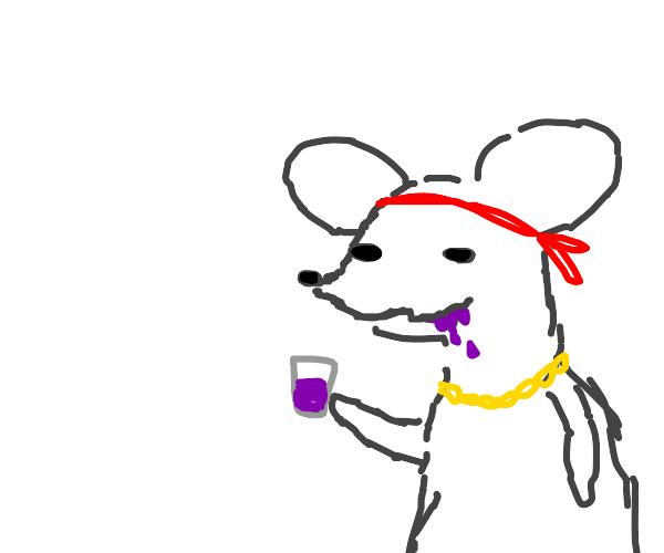 rat drinkin' lean