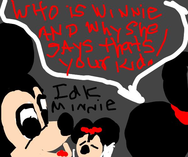 mickey and winnies douchey love child