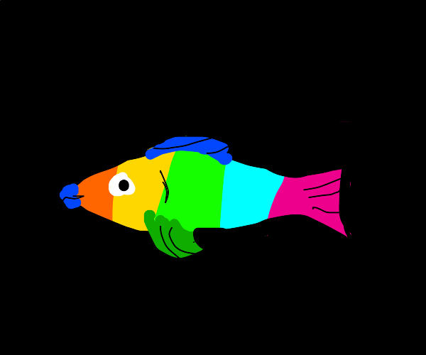literal rainbow trout