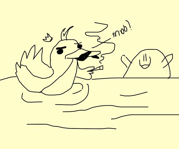 Duck that makes no sense