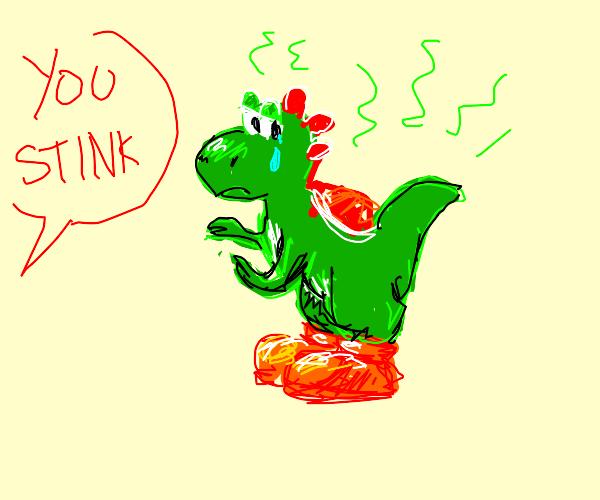 Yoshi stinks