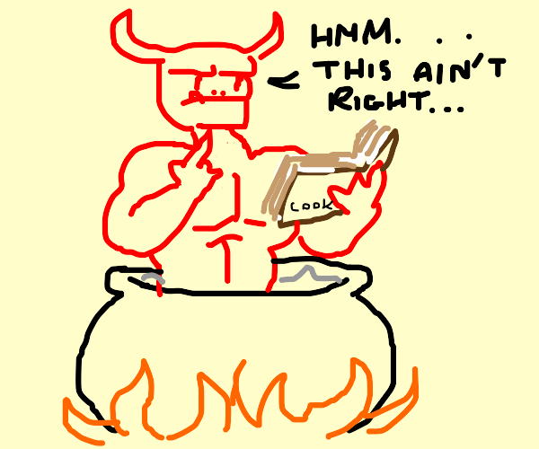 devil doesn't know how to cook