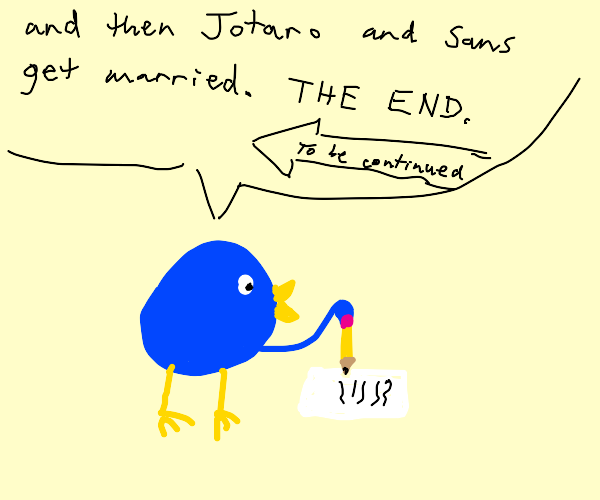 Bird writes JoJo sans fanfics