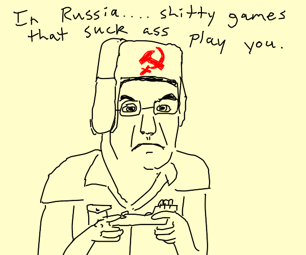 Russian Angry Video Game Nerd